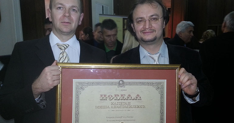 "Greensoft company received ""Kapetan Miša Anastasijević"" award"